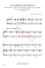 American Flag Doodle An American Medley Ttb Arr Rae Moses J W Pepper Sheet Music