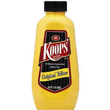 koops mustard koops original yellow mustard 12 oz pack of 12 walmart