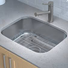 Undermount Kitchen Sink Stainless Steel Kraus Stainless Steel 23 X 18 Undermount Kitchen Sink With Drain