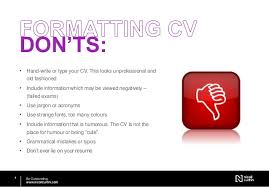 How To Write A Successful Resume How To Write A Successful Cv