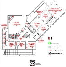 Museum Floor Plan Nerman Museum Of Contemporary Art Building Map Nmoca