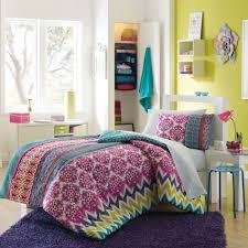 bedroom design rose print teen vogue bedding in cool bedrooms for