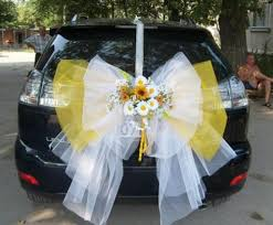 bows for cars presents wedding car bow from tulle wedding ideas for me