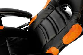 Gaming Chair Leather Arozzi Enzo Or Enzo Series Black Orange Gaming Chair