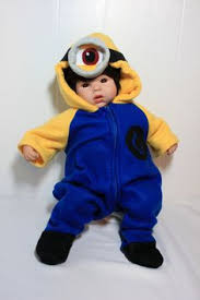 Minion Baby Halloween Costume Newborn Halloween Costumes 0 3 Months Newborn Halloween Costumes