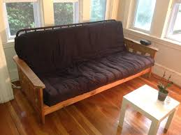 furniture futon frames wood placement for wood futon frame