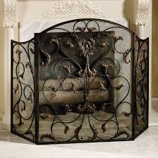 decorative fireplace screens modern decorative fireplace screen