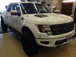 Ford Raptor White - color matched some oem parts ford raptor forum f 150 raptor forums