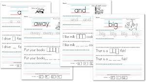 pre primer sight words worksheets worksheets