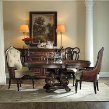Jessica Mcclintock Dining Room Set Hooker Furniture Grand Palais 5 Piece Round Dining Table Set With