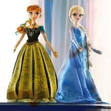 disney store limited edition anna elsa dolls u0027frozen
