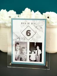 table numbers with pictures when we were young photo table numbers allfreediyweddings com