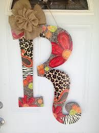 Door Hanger Design Ideas 69 Best Monogram Door Hangers Images On Pinterest Monogram Door