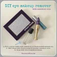 diy eye makeup remover with essential oils stephanie blue