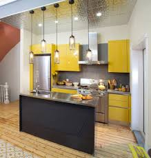 Yellow Kitchen Backsplash Ideas Interior And Exterior Grey Kitchen Cabinets Yellow Walls Quicua