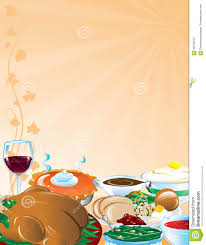 thanksgiving feast background stock illustration image 62548763