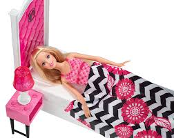 barbie doll and deluxe bedroom