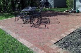 Easy Patio Pavers Brick Patios Easy Patio Furniture And Brick Patio Ideas Easy Brick
