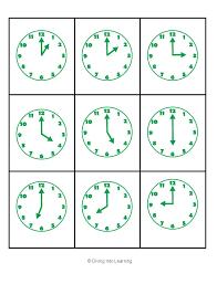 clocks lessons tes teach