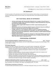 best resume layout hr generalist sle human resources generalist resume