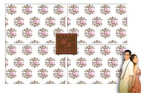 wedding backdrop tarpaulin certified bridechilla our photo booth layout
