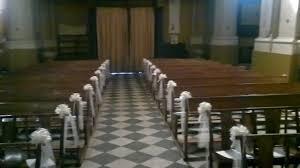 chaise d église décoration église mariage