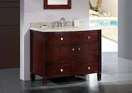 42 Inch Bathroom Cabinet Furniture Lacquered 42 Inch Bathroom Vanity Design With 42