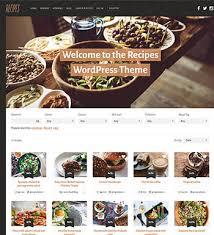 site de recettes cuisine recipes un thème pour site web de recettes de cuisine