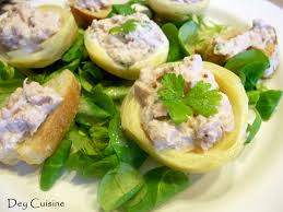cuisine artichaut dey cuisine coeurs d artichaut aux rillettes de thon