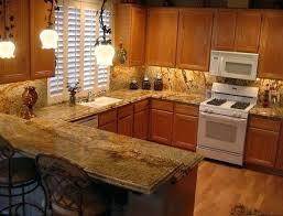 black granite countertops with tile backsplash home design interior