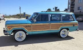 jeep grand wagoneer custom 1988 jeep grand wagoneer custom blue 4 door woody wagon 4wd 360 v8