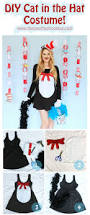 Cat In The Hat Costume The Joy Of Fashion Halloween Homemade Cat In The Hat Costume