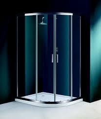 900 Shower Door Flair Offset Quadrant Shower Door Enclosure 900 X 1200mm