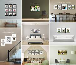 Gallery Wall Frames by Frames On Wall Ideas Prints Canvas Frames On Wall Example