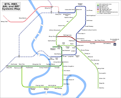 Red Line Map File Bangkok Transit Map Svg Wikimedia Commons