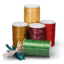 colored raffia colored pearlized raffia ribbon shop paper mart