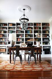 Lights For Bookshelves Bookcases For A Home Office Traditional White Vs Industrial