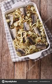 cuisine italienne pates cuisine italienne pâtes aux sardines fenouil raisins secs et