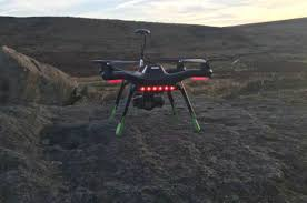 beware sheep rustlers of the south west of england police drone