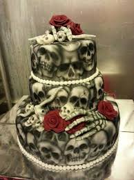skull wedding cakes skull wedding decorations 1000 ideas about skull