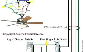 one way light single pole dimmer switch wiring diagram how to wire a single pole