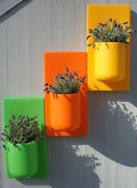 colorful self watering vertical garden walls urban gardens