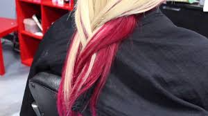 two tone hair color youtube