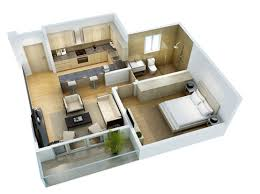 house design plans 3d 3 bedrooms the alma