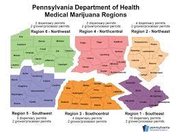 Medical Marijuana Legal States Map by Pennsylvania Medical Marijuana Phase 1 Dispensary Permit