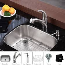 Industrial Kitchen Faucets Stainless Steel by Stainless Steel Kitchen Sink Combination Kraususa Com