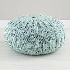 Crochet Ottoman Knitted Pouf Ottoman Canada Target Pattern Free Crochet Diy