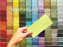 color samples for home decor painting and repair