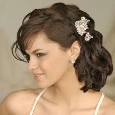 formal hairstyles for medium length medium length curly hairstyle for weddings hairstyles and haircuts