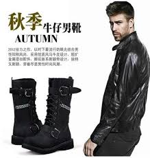 high top motorcycle boots 2015 men u0027s top cool high ankle fashion winter army hiking boot
